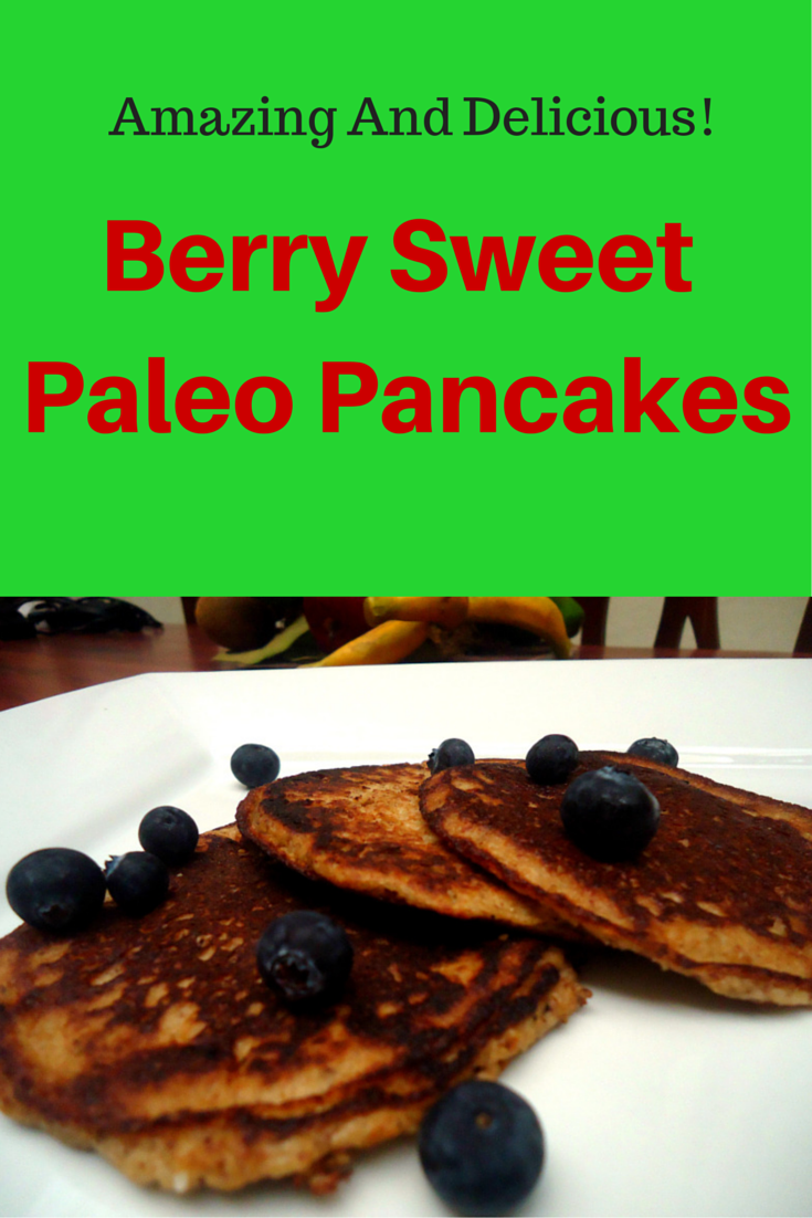 Paleo pancakes coconut flour recipe - this one is DELICIOUS! And you wouldn't believe what's in it.