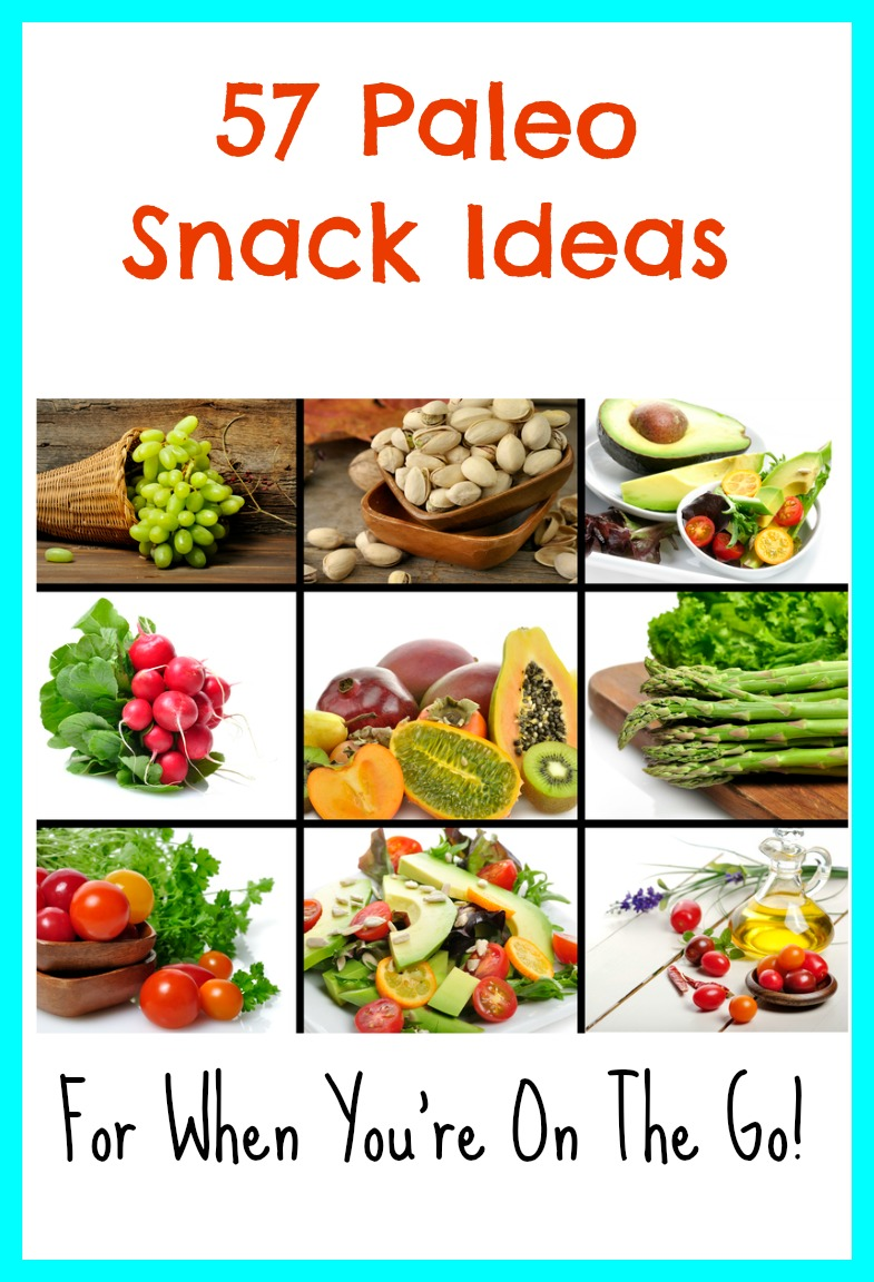 Paleo snacks on the go can be tough to think of. This post lists out a TON of ideas. My favorite is #37. Yum.