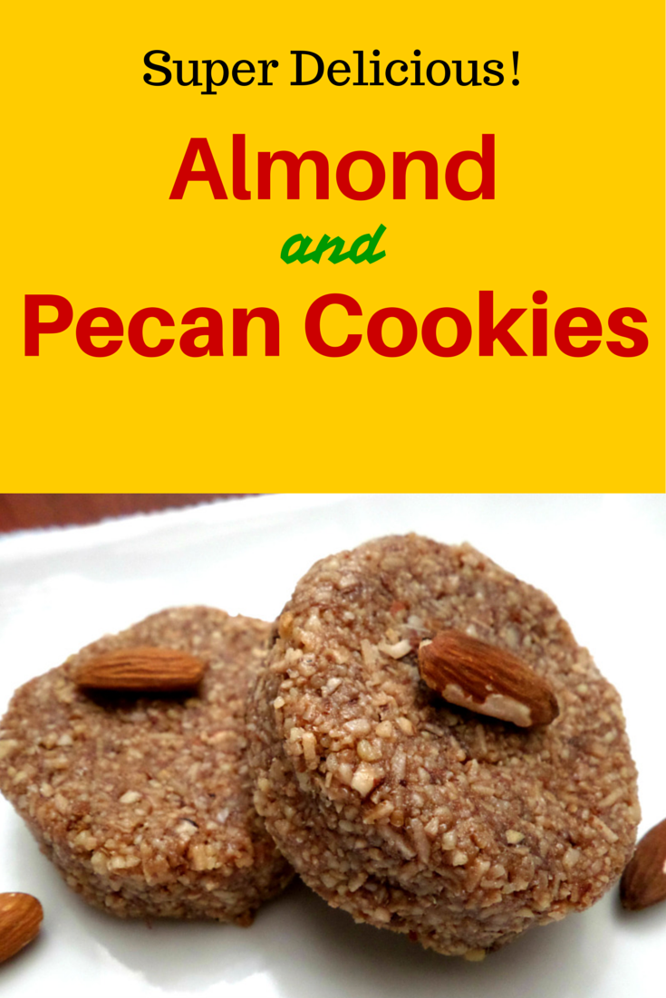 Delicious Almond and Pecan Paleo Cookies | You will amazingly love its taste!