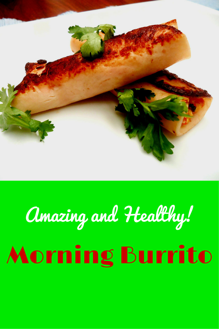 Delicious Morning Burrito - absolutely perfect for breakfast! #PaleoFood #PaleoRecipe #PaleoBreakfast #PaleoLiving #ProudtobePaleo