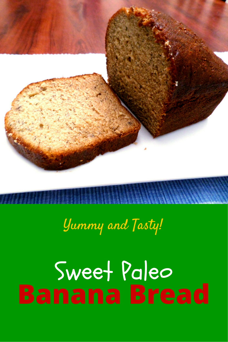 Sweet Paleo Bread Banana – have bread in a day, it provides dietary fiber, vitamins and minerals! #PaleoFood #PaleoBanana #PaleoRecipe #PaleoDessert #ProudtobePaleo