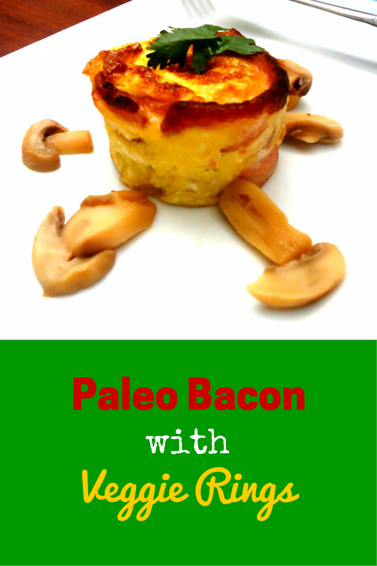 Paleo Bacon and Veggie Rings - I so love this amazing recipe, certified bacon lover! #PaleoBreakfast #PaleoFood #PaleoRecipe #ProudtobePaleo