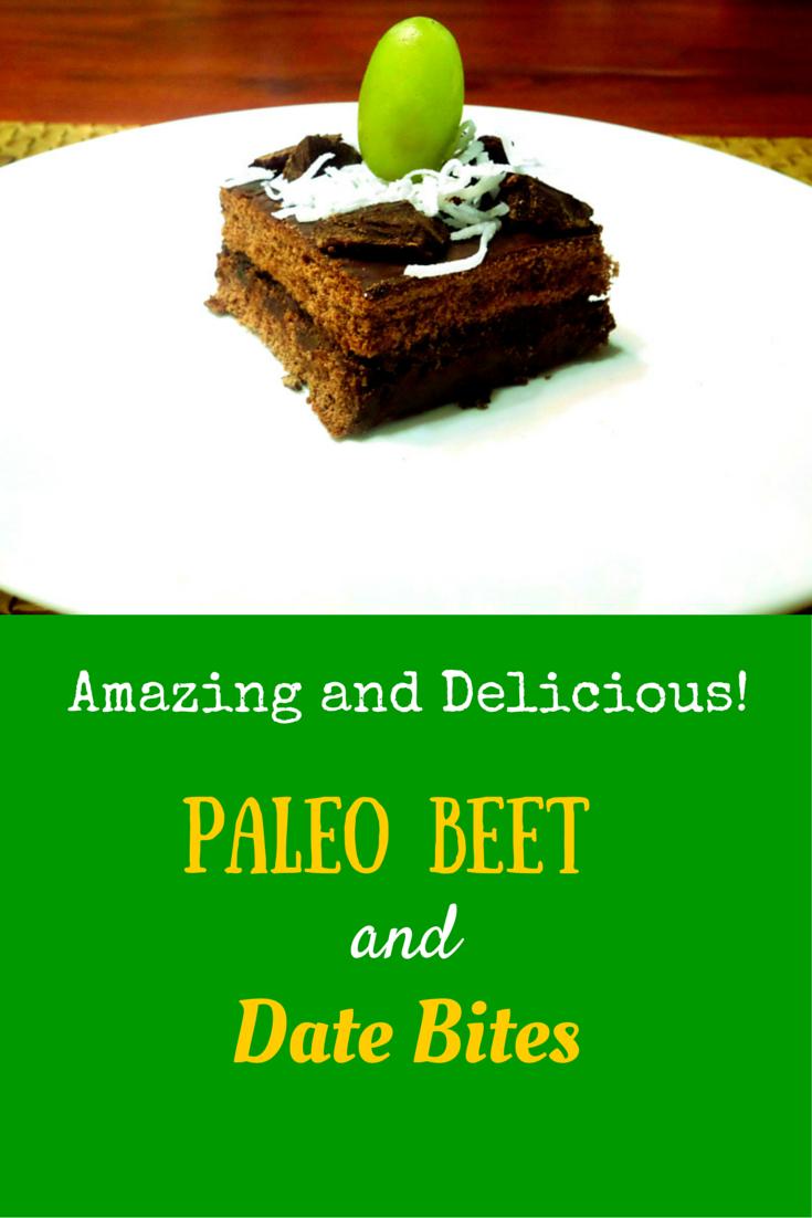 Paleo Beet & Date Bites - unbeatable recipe for healthy, delicious beets! #PaleoDessert #PaleoFood #PaleoRecipe #ProudtobePaleo