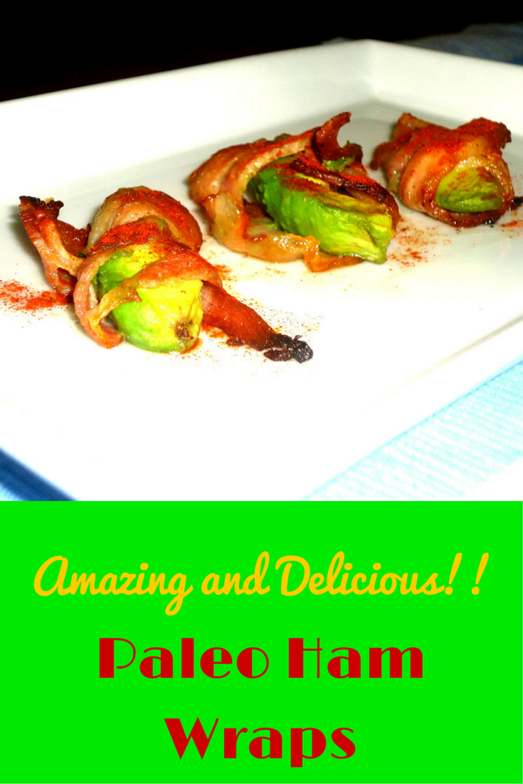 Delicious Paleo Ham Wraps - amazing recipe of ham in a healthy way! #PaleoSnack #PaleoRecipe #PaleoFood #PaleoLiving