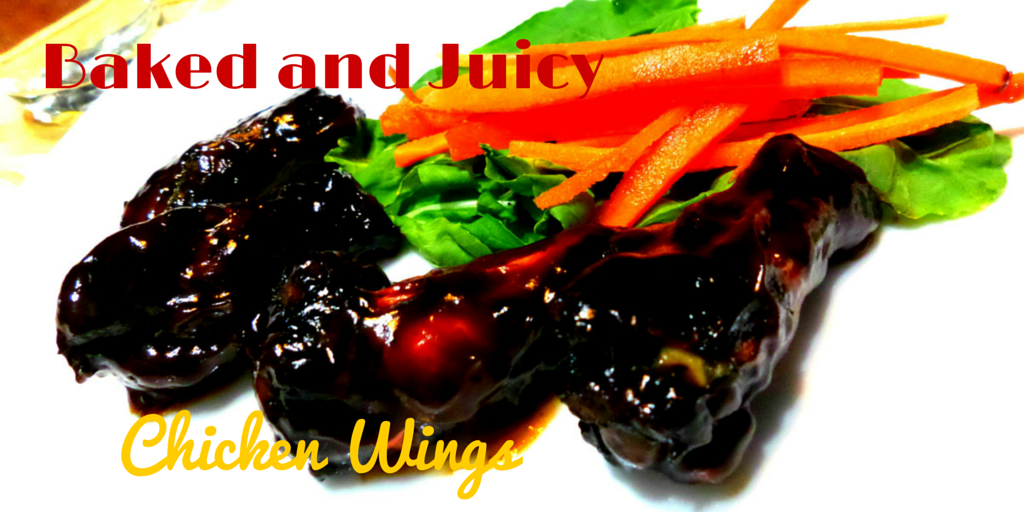Baked and Juicy Chicken Wings - delicious and healthy recipe! #PaleoDinner #PaleoRecipe #PaleoFood