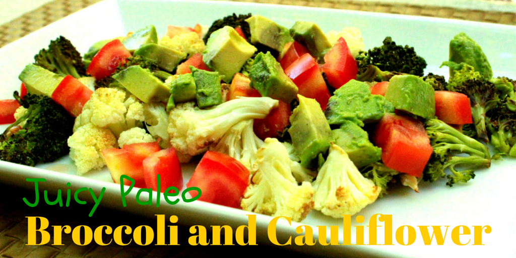 Juicy Paleo Broccoli and Cauliflower - feel sweet and petite with this real veggie treat! #PaleoLunch #PaleoRecipe #PaleoFood #PaleoVeggies