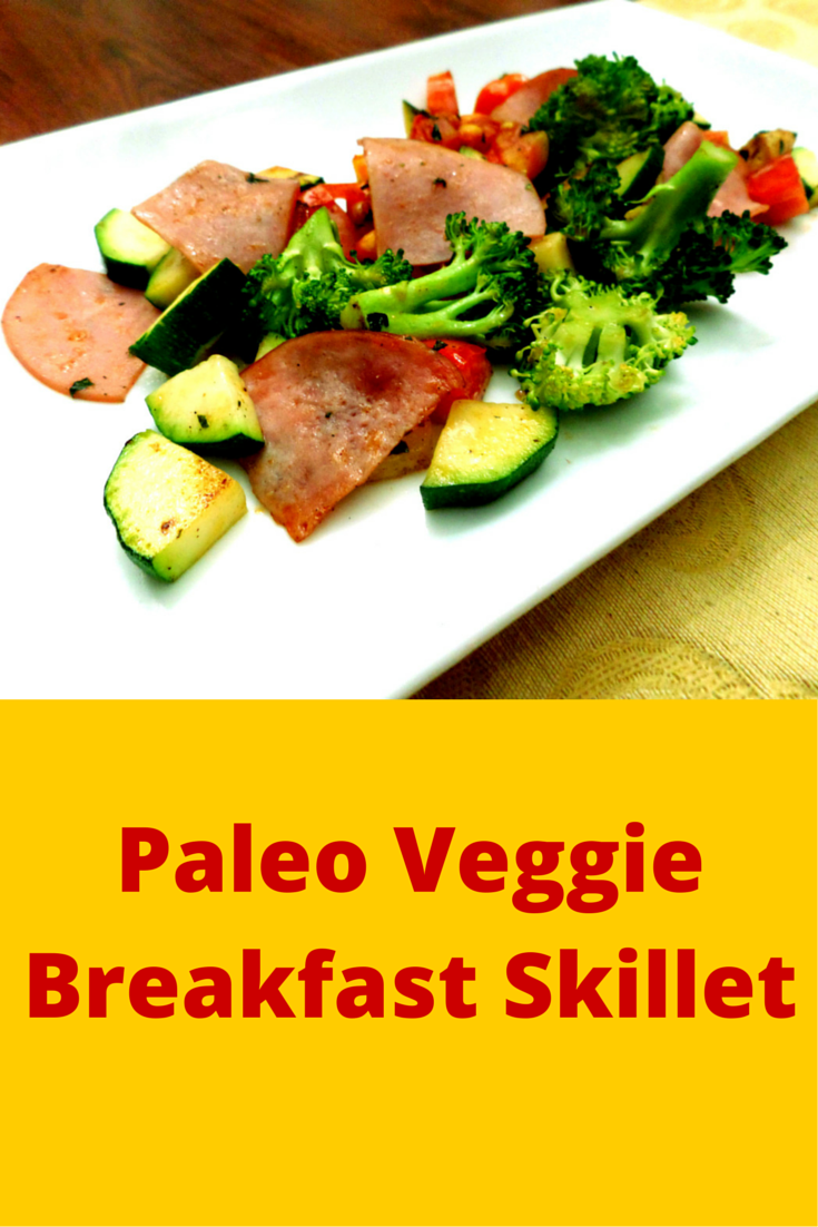 Paleo Veggie Breakfast Skillet - perfect food for the soul! #PaleoRecipe #PaleoBreakfast #PaleoFood #Paleo #ProudtobePaleo