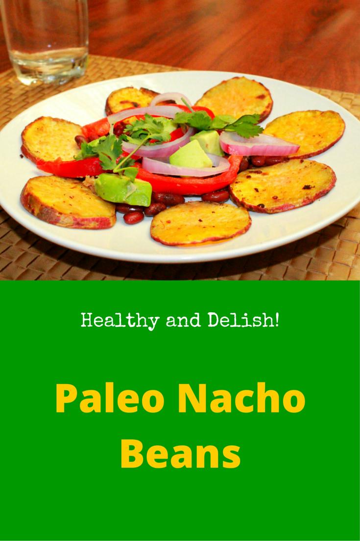 Paleo Nacho Beans - delicious paleo lunch! #PaleoRecipe #PaleoLunch #PaleoFood #Paleo