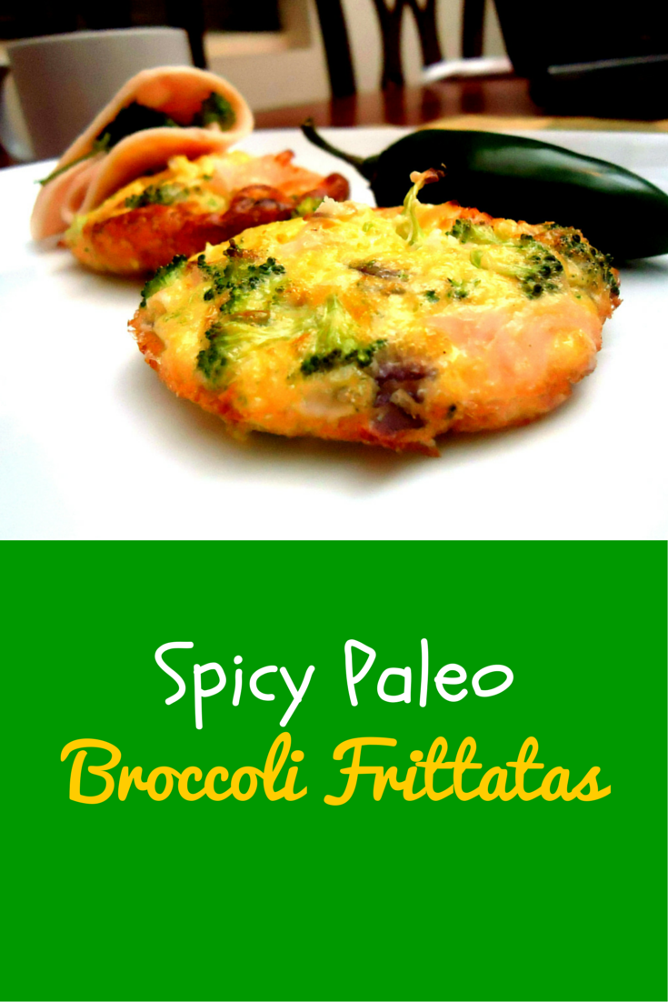 Spicy Paleo Broccoli Frittatas – perfect and nutritious recipe for your breakfast! #PaleoFood #PaleoRecipe #PaleoBreakfast #Paleo #ProudtobePaleo