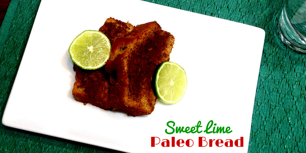 Sweet Lime Paleo Bread - a simple snack yet a healthy one! #PaleoBread #PaleoRecipe #PaleoFood #PaleoSnack #ProudtobePaleo