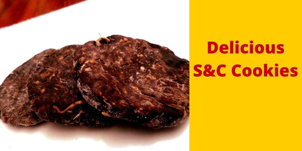 Delicious S&C Cookies - yummylicious dessert! #PaleoFood #PaleoRecipe #PaleoDessert #Paleo #ProudtobePaleo