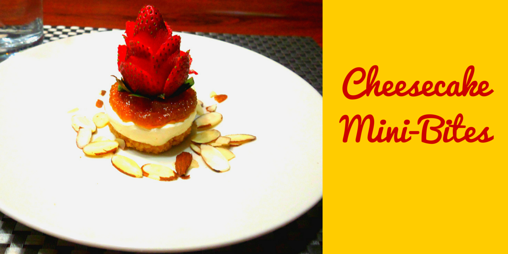 Cheesecake Mini-Bites - sweet fun-sized dessert! #PaleoRecipe #PaleoDessert #PaleoFood #Paleo