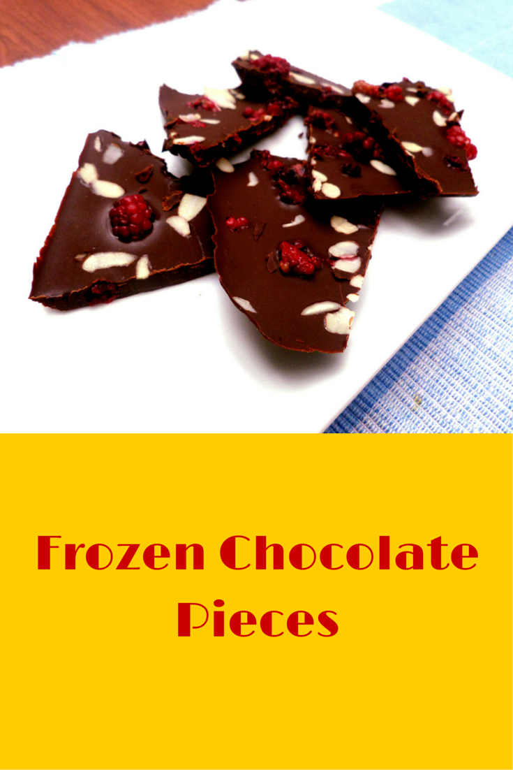 Frozen Chocolate Pieces - very delicious and easy to follow dessert recipe! #PaleoFood #PaleoSnack #PaleoRecipe #Paleo #ProudtobePaleo