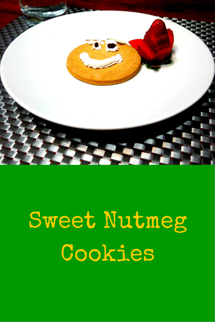 Sweet Nutmeg Cookies –  superb flavors in one delicious cookie! #PaleoRecipe #PaleoFood #PaleoDessert #Paleo #ProudtobePaleo