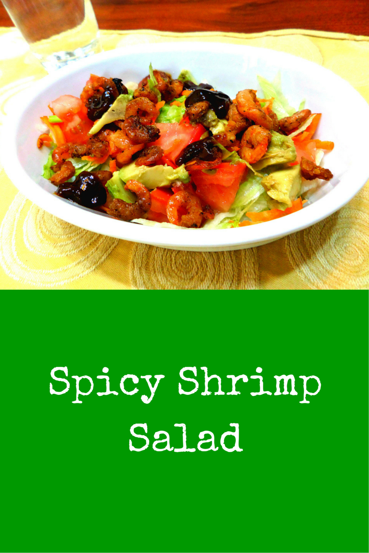 Spicy Shrimp Salad - Get this all tie favorite, easy-to-follow shrimp salad recipe! #PaleoFood #PaleoDinner #PaleoRecipe #Paleo #ProudtobePaleo