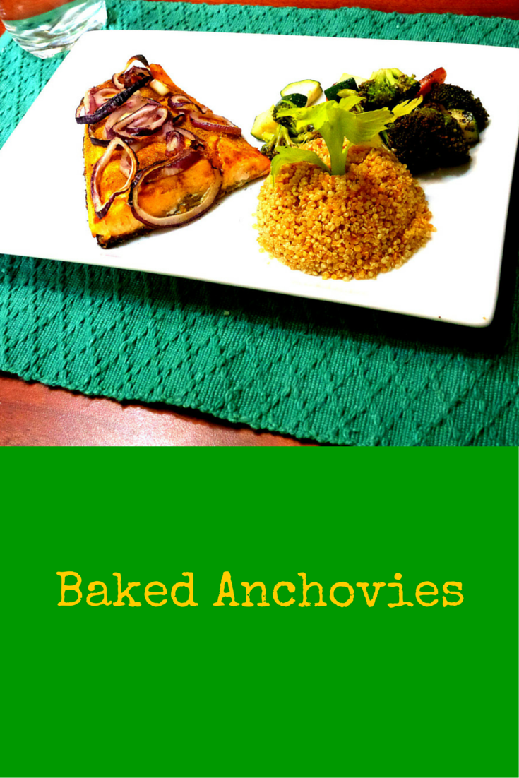 Baked Anchovies - One of the healthiest and tastiest meal you'll ever eat! #PaleoFood #PaleoRecipe #PaleoDinner #Paleo #ProudtobePaleo