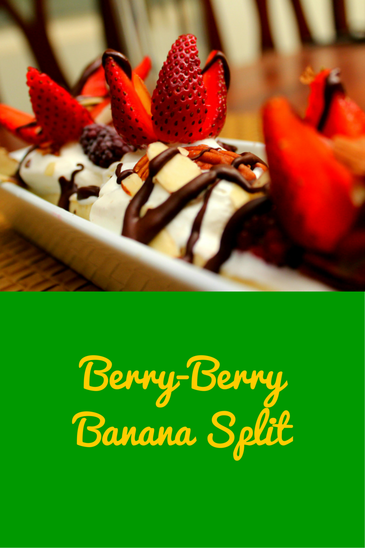 Berry-Berry Banana Split - refreshing and delicious! #PaleoBreakfast #PaleoFood #Paleo #PaleoRecipe #ProudtobePaleo