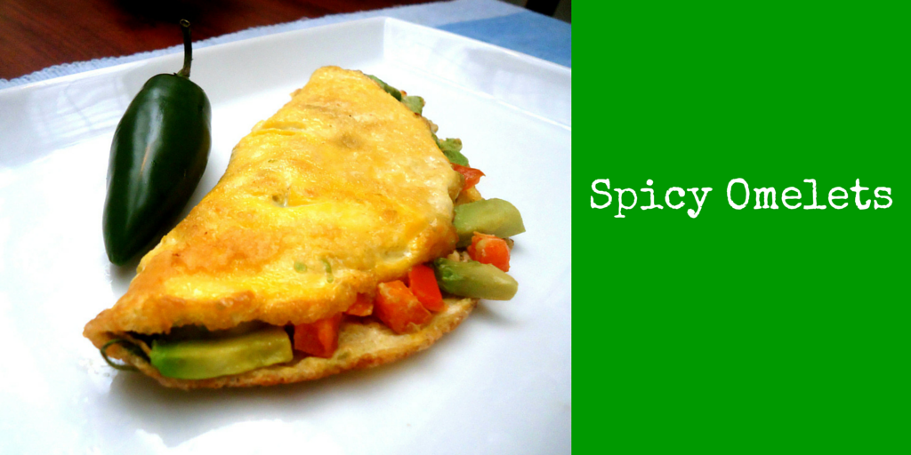 Spicy Omelets - enjoy our favorite easy and healthy recipe! #PaleoFood #PaleoBreakfast #PaleoRecipe #Paleo #ProudtobePaleo